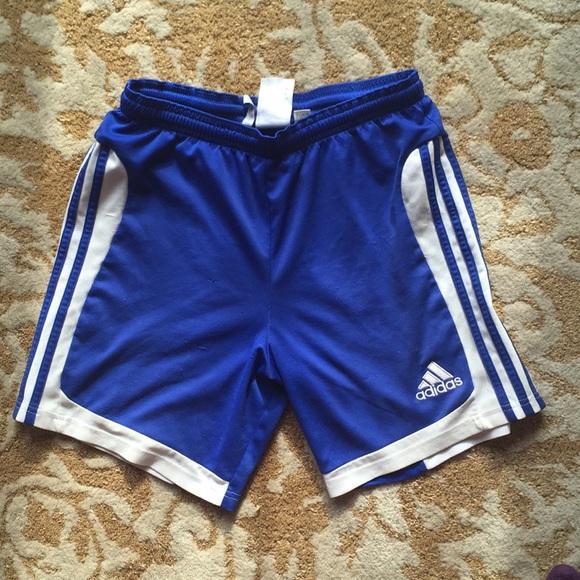 Adidas Blue L Soccer Adidas Shortskids Soccer Blue 8wvN0Omn